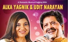 Alka Yagnik and Udit Narayan Live in Concert , http://bostondesiconnection.com/alka-yagnik-and-udit-narayan-live-in-concert/,  #AlkaYagnik #BostonDesi #Bostonevents #buyeventtickets #BuyTickets #Concert #MA #Selleventtickets