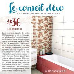 #36 LES ANNÉES 70 _____ Quand on parle de décoration des années 1970, beaucoup ont en tête ce fameux papier peint à motifs qu'ils voyaient chez leurs grand-parents. Alors que pour des murs au style glamour, floral, romantique ou encore baroque, les motifs façon 70 sont parfaits ! Retrouvez chaque jeudi un conseil déco de notre architecte d'intérieur, sur nos réseaux sociaux et sous le hashtag #conseildécodujeudi