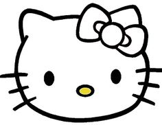 Hello Kitty Birthday Coloring Pages | these and all of my free printables are for personal use only. please ...