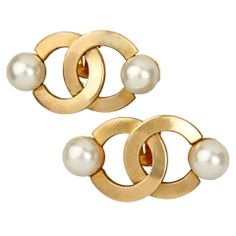 Early CHANEL  Earrings