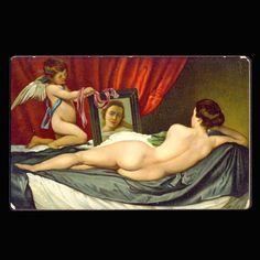 Vintage Postcard Venus & Cupid by JMCVintagecards on Etsy Postcards For Sale, Vintage Postcards, Cupid, View Image, Venus, Etsy, Vintage Travel Postcards, Venus Symbol