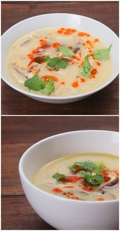 Thai-Style Chicken And Coconut Soup