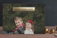 For as long as we spend capturing the perfect photo, it should be faster to pick the perfect holiday card to put it on. So we've done the work for you.