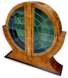 1930s Art Deco Display cabinet