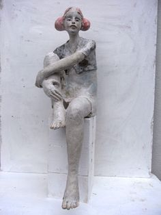 Keramik Doris Althaus, figurative ceramic sculpture
