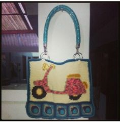Scooter Fusion Bag by Na Fatwaningrum