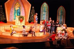 image result for best christmas pageant ever set best christmas pageant ever christmas program