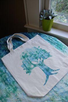 13 X 13 Oak Tree Neutral Canvas Tote Bag by ShopMelissa on Etsy, $18.00