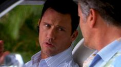 """""""I never had to walk around with a hole in my clavicle before."""" [Michael Westen]"""