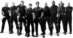 Jason Statham, Jet Li, And some other heroes I like all in one pic.