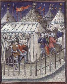 Detail .BNF Français 261 Titus Livius Ab Urbe Condita f. 25 1400-1410