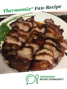 Recipe Chinese BBQ Pork (Char Siu) by Christinachiu, learn to make this recipe easily in your kitchen machine and discover other Thermomix recipes in Main dishes - meat. Greek Recipes, Pork Recipes, Asian Recipes, Cooking Recipes, Yummy Recipes, Cooking Tips, Chinese Bbq Pork, Asian Pork, Thermomix