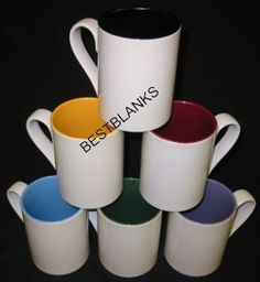 Blank Sublimation Mugs & Steins Silhouette Vinyl, Silhouette Machine, Silhouette Cameo Projects, Vinyl Crafts, Vinyl Projects, Sublimation Mugs, Craft Business, Soap Making, Craft Supplies