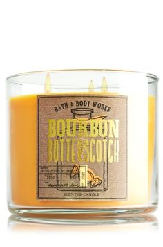 Bourbon Butterscotch 3-Wick Candle - Slatkin & Co. - Bath & Body Works