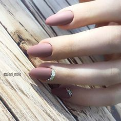 21 Cool Nude Almond Nails Designs for an Exceptional Look ❤ Nude Almond Nails Designs with Rhinestone picture 2 ❤Nude almond nails look so elegant and sophisticated that no formal event will be missed due to your nails being inappropriate. Enjoy our suggestions! https://naildesignsjournal.com/nude-almond-nails-designs/ #nails #nailart #naildesign #almondnails