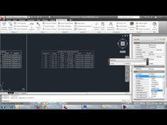 Pasar Tablas de AutoCAD a Excel , MUY FACIL - YouTube