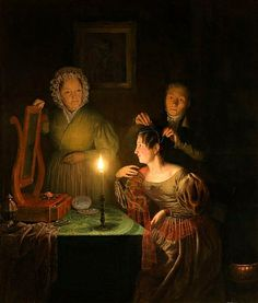Petrus van Schendel, Before the Ball, 1835 - I wonder if it was really that dark all the time.