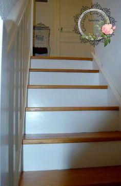 Peindre les marchés de mon escalier