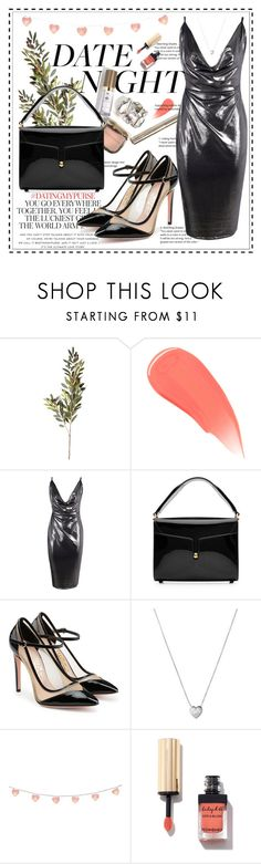 """Hot Date Night Style"" by fabulousbyangelika ❤ liked on Polyvore featuring OKA, Burberry, Boohoo, Marc Jacobs, Kate Spade, Salvatore Ferragamo, Links of London and DateNight"