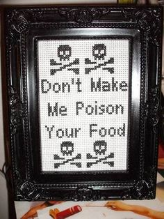MUST HAVE ONE! I am the queen of my kitchen; everyone must remember that I have their lives in my hands; muahahaha!