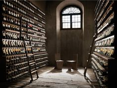 Flaschenborde aus Eisen LIBRERIA DEL VINO by ELITE TO BE