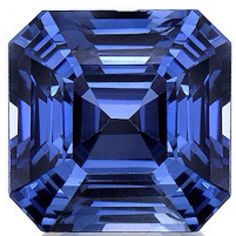 Asscher sapphire