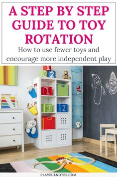 Toy rotation and org