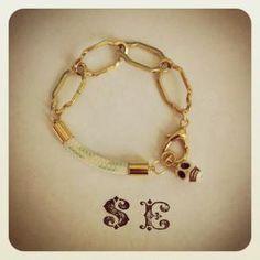 Scallywag Bracelet SE Jewelry  www.sashapellow.com My Girl, Bracelets, Gold, Jewelry, Fashion, Bangles, Jewlery, Moda, Jewels
