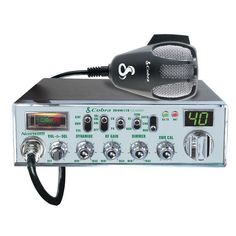 COBRA ELECTRONICS 29NW Classic(TM) CB Radio (29 NW; Instant channel 19) • SWR calibration • 40 CB channels • Antenna warning indicator • Instant channel 9 •4W AM RF power output • NightWatch(R) illumi