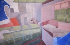 'The Seventies' /  Oil on canvas /  47.24 in x 31.50 in /  Apr 19, 2012 /