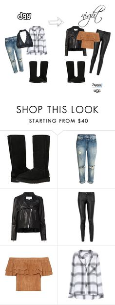 """""""The Icon Perfected: UGG Classic II Contest Entry"""" by audreyelizabethblogs ❤ liked on Polyvore featuring UGG, Veronica Beard, Paige Denim, Rails, Free People, ugg and contestentry"""