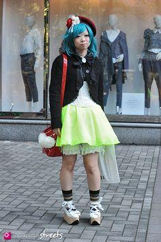 HIKARU YOKAWA  Shibuya, Tokyo  AUTUMN 2012, GIRLS  Kjeld Duits  STUDENT, 20