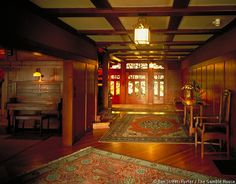 Beautiful arts & crafts style.  Gamble House / Greene & Greene