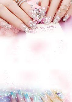 Lindas UNhas manicure poster as background, Linda, Amostras De UNhas, O Cartaz. Nail Art Designs Videos, Nail Designs, Beauty Art, Beauty Nails, Beauty Bar Salon, Nail Saloon, Salon Wallpaper, Nail Salon Design, Nail Mania