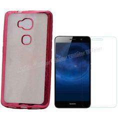 Huawei GR5 Tam Korumalı Silikon Kılıf Kırmızı + Kırılmaz Cam -  - Price : TL17.50. Buy now at http://www.teleplus.com.tr/index.php/huawei-gr5-tam-korumali-silikon-kilif-kirmizi-kirilmaz-cam.html