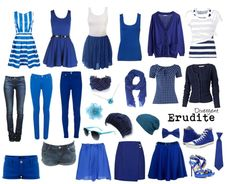 Erudite - Knowledge seeking for you potter fans Raven claw. They wear blue because. Divergent OutfitsDivergent ...  sc 1 st  Pinterest & Divergent: Faction Outfits