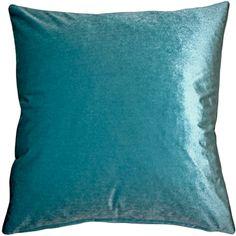 The inch Corona Aqua Blue Velvet pillows are made from an exceptionally soft, high quality medium-pile velvet fabric with a medium sheen. Velvet Color, Blue Velvet, Velvet Pillows, Throw Pillows, Decor Pillows, Machine Wash Pillows, Pillow Arrangement, American Decor, Shabby Chic Furniture