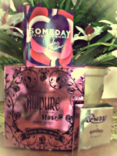 ...Someday by Justin Bieber...Purss by Katy Perry...Guipure by Jeanne Arthes... #Perfumes