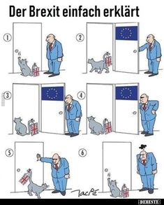 The Brexit simply explained . – Humor – The Brexit simply explained . Clean Funny Memes, Very Funny Jokes, Hilarious, Brexit Humour, Memes Humor, Bts Memes, Funny Images, Funny Pictures, Really Funny