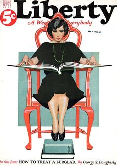 Coles Phillips cover for Liberty magazine, May 1925