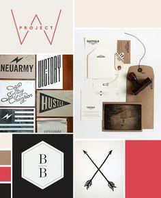 moodboard by Bre of Moxee Design Studio Web Design, Blog Design, Layout Design, Inspiration Wall, Graphic Design Inspiration, Adobe Illustrator Tutorials, Print Layout, Grafik Design, Identity Design