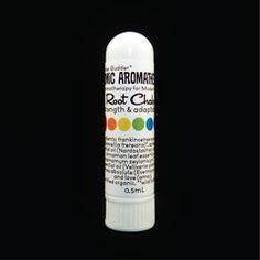 Root Chakra Aromatherapy Inhaler. For meditation, grounding, and chakra balancing.