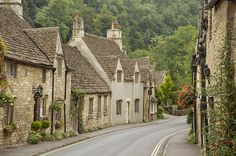 Castle Combe, Wiltshire. Movies such as Doctor Doolittle, Stardust and War Horse were filmed here.