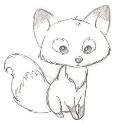 Image result for easy to draw cartoon fox