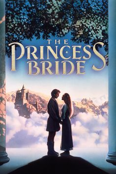 The Princess Bride (1987) - starring Robin Wright, Cary Elwes, Mandy Patinkin, Chris Sarandon, Christopher Guest, Wallace Shawn, Fred Savage, Peter Falk, Billy Crystal, Carol Kane, Peter Cook and Mel Smith.