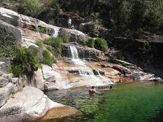 Gerês Mountain & falls  north Portugal