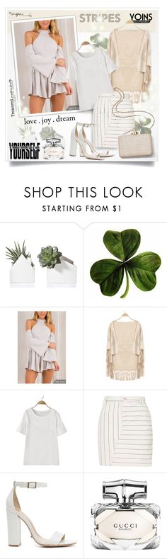 """Yoins139"" by sneky ❤ liked on Polyvore featuring Topshop, Schutz, Kayu, Gucci, yoins, yoinscollection and loveyoins"
