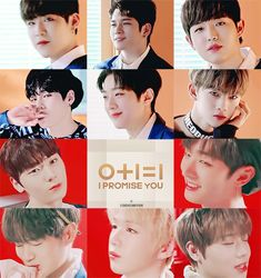 """Wanna-One - """"0+1=1, I Promise You"""" My Big Love, First Love, Web Girls, Ong Seung Woo, Nothing Without You, Lai Guanlin, Produce 101 Season 2, I Promise You, Kim Jaehwan"""