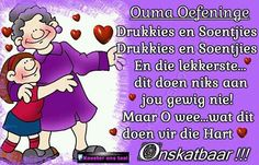 ♡ Afrikaanse Quotes, Grandma Quotes, Family Guy, Wees, Grandmothers, Grandchildren, Fictional Characters, Birthday, Report Cards