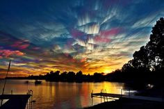 Ontario, Canada-based photographer Matt Molloy recently created a gorgeous series of sky images by stacking multiple photos onto one. The individual photos are most often taken from the timelapses he shoots. The final photo has a stunning painterly effect, almost as if someone had taken a paintbrush to the sky and smeared its beautiful colors.